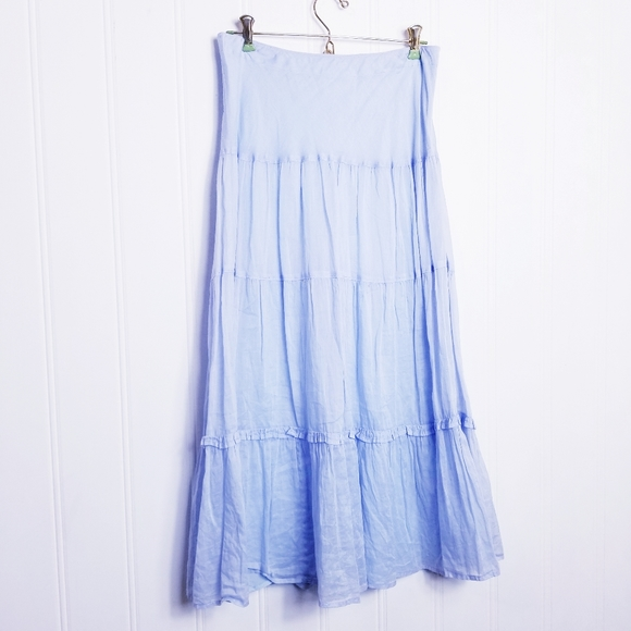 Banana Republic Dresses & Skirts - Banana Republic Flowy Boho Tiered Maxi Skirt